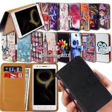 Leather Wallet Stand Magnetic Flip Case Cover For Lenovo Golden Warrior Phones