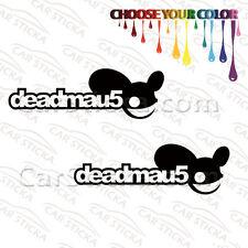 "2 of 8"" to 20"" Deadmau5 Deadmaus /A artist car wall window stickers decals"