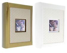 EXKLUSIV Hochzeitsalbum Fotoalbum Hochzeit für 300 Fotos 10x15 Gold,Creme leg300