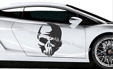 SKULL-Wall Art Vinile/Adesivo ref 10 auto, furgone, barca, bici Tablet