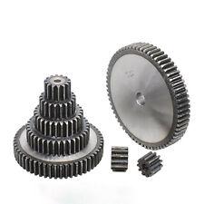 45# Steel Spur Pinion Gear 1.5Mod 50T Motor Gear Outer Dia 78mm Bore 10mm x 1Pcs