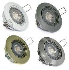 1 - 20 Spot encastré Lisa 230V COB 5 watt = 50 Watt Puissance LED GU10 spot
