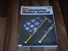 DWJ -- Deutsches Waffen-Journal  4/1987 -- Selbstladegewehre der Wehrmacht/Colt