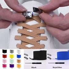 Elastic Magnetic Locking Shoelaces Quick No Tie Shoe Laces Kid Adult Unisex