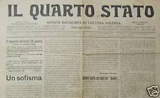 POLITICA_SOCIALISMO_QUARTO STATO_ROSSELLI_ADLER_LIBERISMO_GIRETTI_PROLETARIATO