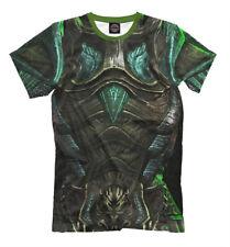 T-shirt fullprint The Elder Scrolls Skyrim Glass Armor