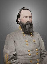 Gen James Longstreet Confederate CSA Uniform Civil War Color Photo - i10006