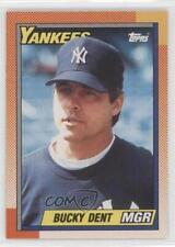 1990 O-Pee-Chee #519 Bucky Dent New York Yankees Baseball Card