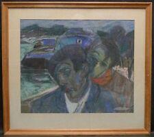 "Pastell ""Personen"" Carl Berndtsson (1902 - 1982)"