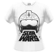 """Star Wars X-Wing Fighter Casque """"Girlie T Shirt-Nouveau Haut Filles Shirt"""