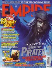 Empire Magazine #216  Jonny Depp Pirates 2 Grindhouse Peter Jackson