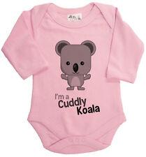 Dirty Fingers BODY DE MANGA LARGA Pelele I'm A Mimoso Koala Australia
