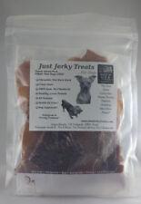 Natural Pork Jerky Dog Treats - 100% Pork, Made In USA, No Chemicals!!