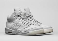 Nike Air Jordan 5 Retro Premium Take Flight Platinum Grey 881432-003 Size 9