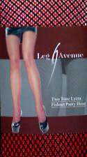 Leg Avenue Fashion Two Tone Lycra Fishnet Panty Hose One Size