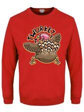 Twurkey Christmas Jumper Men's Sweater Red