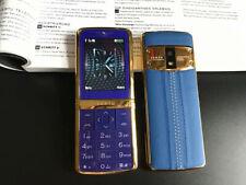Unlocked Luxurious Signature Bar Mobile Phone M7i Leather Bluetooth Dial Luxury