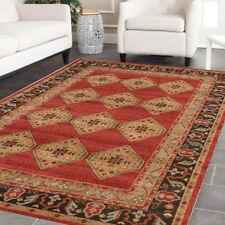 JAMES 801 RED TRADITIONAL RUG Large Carpet Floor Persian Mat FREE POST*