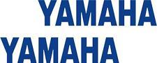 x2 80mm Adesivi Yamaha (altri nel NEGOZIO EBAY) Decalcomanie Moto Blu