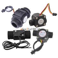 DN25 DC 5-24V/AC 220V 3A G1/2 Water Hall Sensor Control Flowmeter Switch Counter