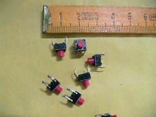 Microtaster  SUPERFLACH  6x6mm liegend   6 Stück   9879