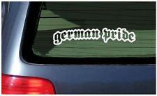 German Pride Sticker Vinyl Decal Car Window Fun Germany Deutschland Berlin