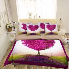 3D Purple Garden Tree 683 Bed Pillowcases Quilt Duvet Cover Set Single Queen CA