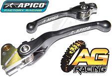 Apico Flexi Lever Set Titanium Clutch & Brake Lever For Yamaha YZF 450 2007-2008