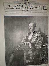 Speaker of the House Arthur Wellesley Peel MP 1892 old print from W E Lockhart