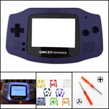 Nintendo Game Boy Advance GBA Front Light Frontlight AGS-001 Full Mod Kit Indigo