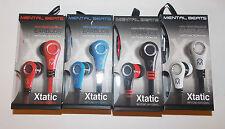 Mental Beats Xtantic Earbuds Cell Phone Earphones Microphone NIB Pick Color