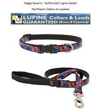 "Lupine Lifetime Dog Collar or Leash - 3/4"" - LIMITED EDITION - NORTHWEST"