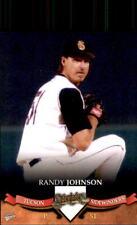 2007 Tucson Sidewinders Multi-Ad #15 Randy Johnson Walnut Creek California Card