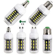 E27 E26 E12 E14 G9 GU10 LED Corn Bulb Light 7030 SMD 12W 15W 24W Lighting Lamp