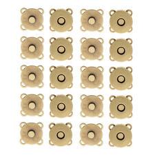 10 Ensembles Sac Fermetures Magnétiques Fermetures Boutons Coudre Pour