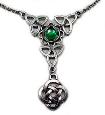CELTIC Triquetra Trinty Knot RENAISSANCE Irish Elf ELVEN Choker/NECKLACE Bridal
