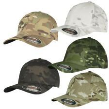 Flexfit Multicam® Cap black multi camouflage Tarn Camo Kappe Yupoong  U.S. Army