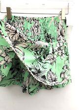 Zara High Waist Blumen Bommel Shorts