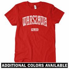 WARSAW Women's T-shirt - Warszawa Polska Polish Poland Polonia - S-2XL
