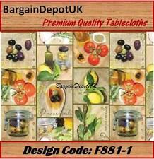 PVC Vinile pulire TABLECLOTH tutte le taglie-Design CODE: f881-1