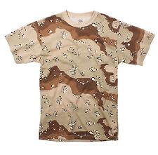 Rothco 6767 Camo T-Shirts - 6-Color Desert Camo