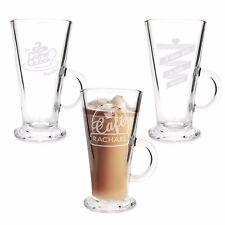 Personalised Gifts, Latte Glasses, Coffee Bistro, Birthday, Mug, Cup