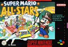 SNES Spiel - Super Mario All-Stars (mit OVP)