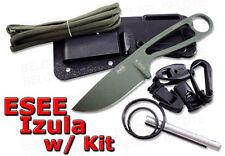 ESEE Izula OD Green Blade + Complete Kit IZULA-OD-KIT