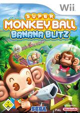""" Super Monkey Ball: Banana Blitz "" (Nintendo Wii)"