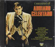 """ADRIANO CELENTANO - RARO CD 1990 FUORI CATALOGO """" I SUCCESSI DI ... """""""
