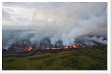 Fissure 20 Lava Fountains Kilauea Volcano 2018 Silver Halide Photo