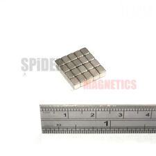 Petit bloc aimants 4x3x3 mm Néodyme NEO rare earth aimant 4 mm x 3 mm x 3 mm