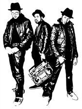 Run–D.M.C. Group Run DMC Retro Art Band Hip-Hop Rap Huge Print POSTER Affiche