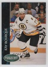 1992-93 Parkhurst #1 Ray Bourque Boston Bruins Hockey Card